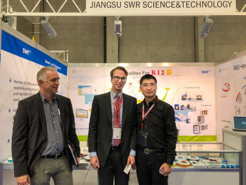 再获国际认可!苏威尔受邀亮相2018瑞士伯尔尼教育技术装备展!