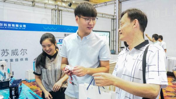 操作太方便了!扬州第3届教育装备展苏威尔数字化实验仪器备受关注