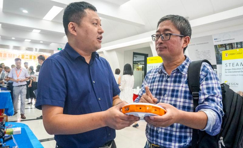 江苏省第二届STEM教育大会圆满落幕!苏威尔产品获得学校代表认可