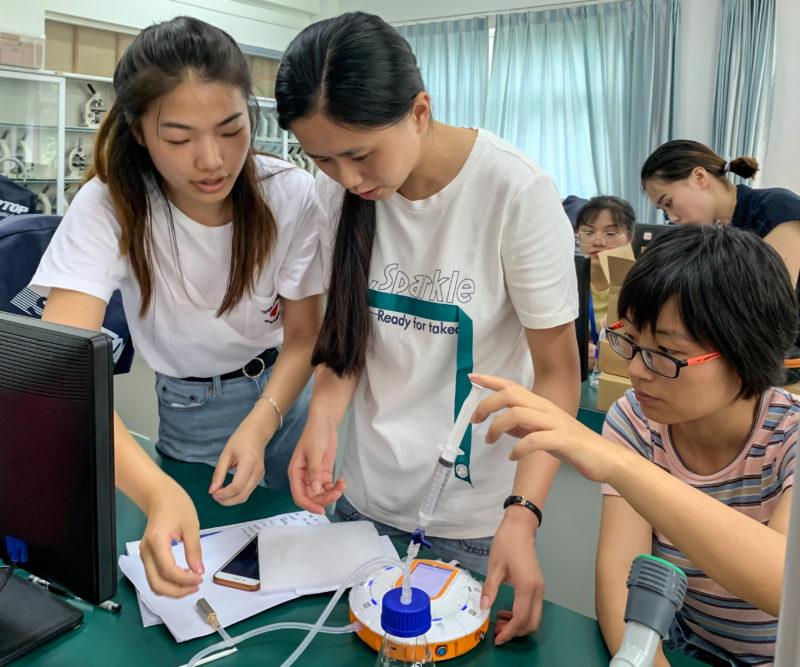 专业和专注!苏威尔第六次承担南京市教师实验技能培训