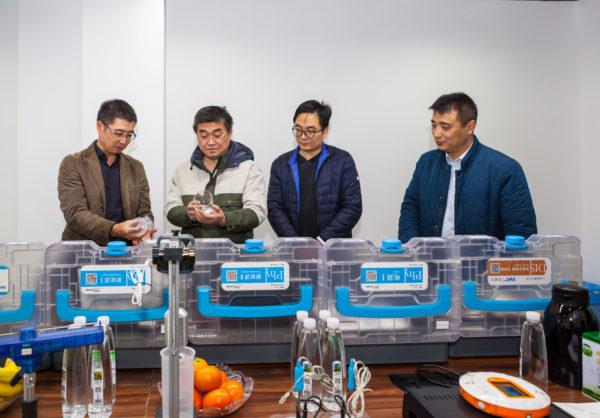 江苏省中小学教研室专家叶兵莅临苏威尔指导工作!称赞TESS实验箱品质一流 理念先进!
